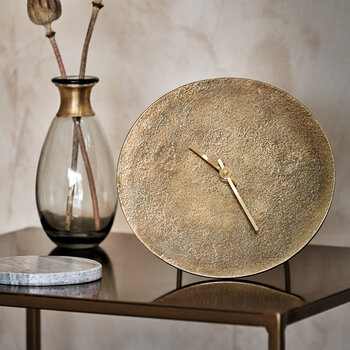 Okota Standing Clock - Antique Brass
