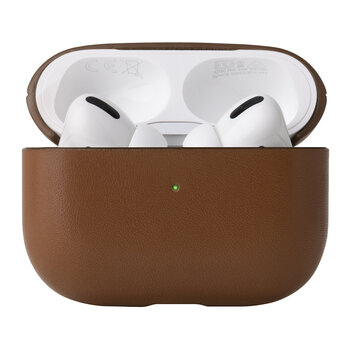 Leather Airpods Pro Case - Tan