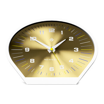 Space Cowboy Mantel Clock - Brass