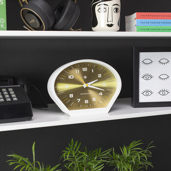 Space Cowboy Mantel-Uhr - Messing