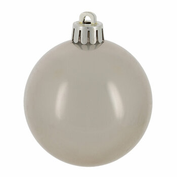 Set of 30 Assorted Baubles - Misty Grey