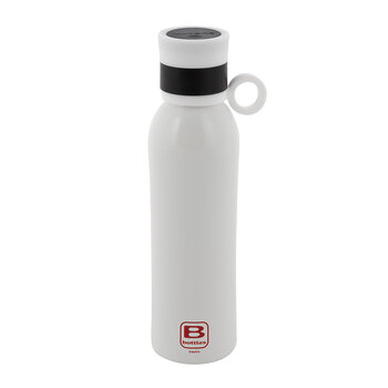 White Bottle with Sport Lid Gift Set
