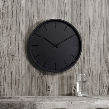 Tone Silent Wall Clock - Black Index