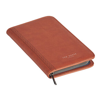 Travel Documents Holder - Brogue/Tan