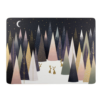 Frosted Pines Nordic Placemat - Set of 4