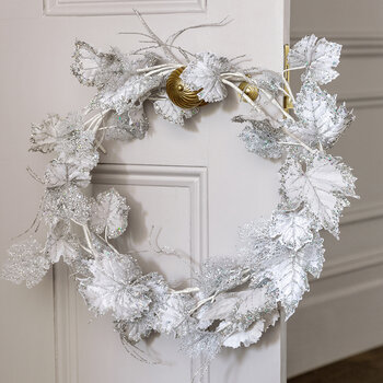 Grape Leaf Garland - Silver