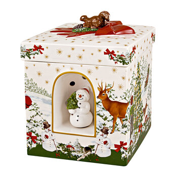 Christmas Toy's Gift Box - Christmas Tree - Square