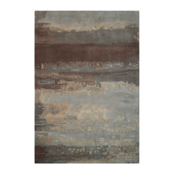 Luster Wash Rug - Chrome