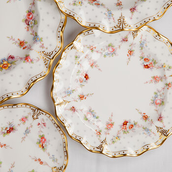 Royal Antoinette Salad Plate