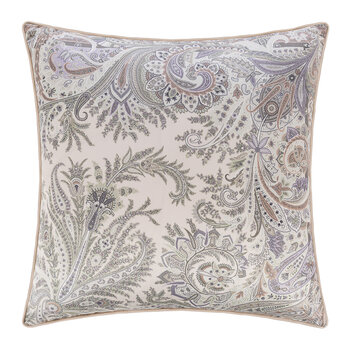 Agadir Atlante Cushion with Piping - 60x60cm - Beige