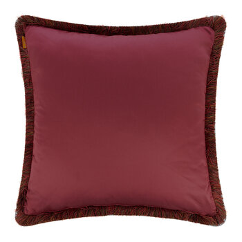Exeter Cornovaglia Pillow with Piping - 60x60cm - Red