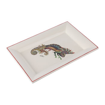 Ha Ubangi Rectangular Tray - Cream