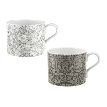Bachelors & Acorn Mugs - Set of 2
