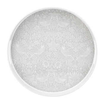 Pure Strawberry Thief Round Tray