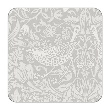 Pure Strawberry Thief Coasters - Set of 6