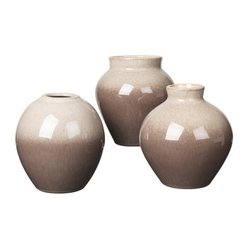 Ingrid Vase - Simple Taupe/Brown