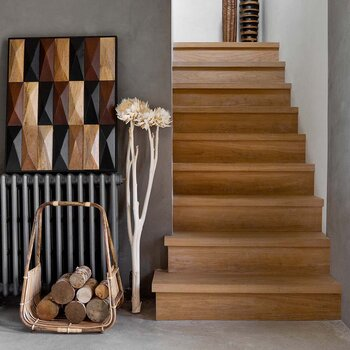Cane Log Storage Basket