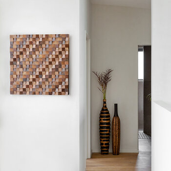 Small Wooden Tile Wall Art