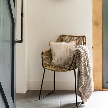 Wrapped Jute Armchair - Natural