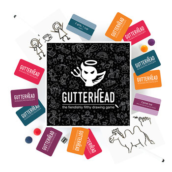 Gutterhead - The Fiendishly Filthy Adult Drawing Game