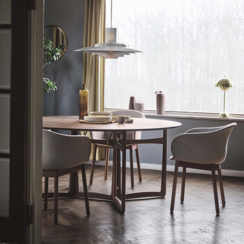 Drop Leaf Dining Table HM6 - White Oiled Oak