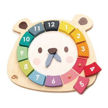 Kids Bear Colours Clock