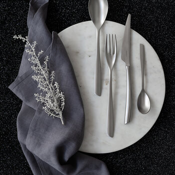 Riviera 24 Piece Cutlery Set - Sandblasted