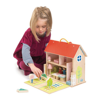 Kids Dolls House Set