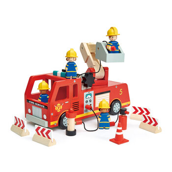 Kids Fire Engine Set