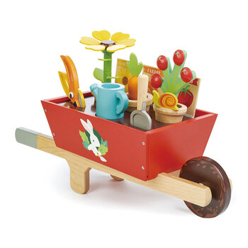 Kids Garden Wheelbarrow Set