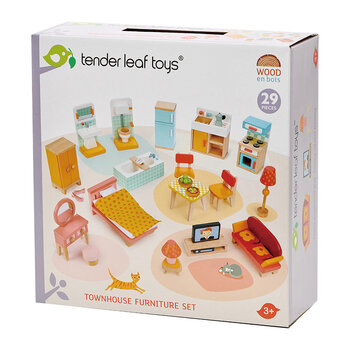 Kids Townhouse Furniture Set