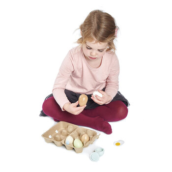 Kids Wooden Eggs
