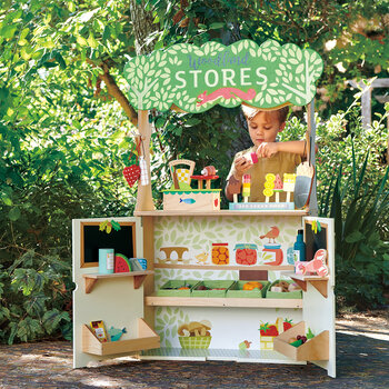 Kids Woodland Stores And Theatre