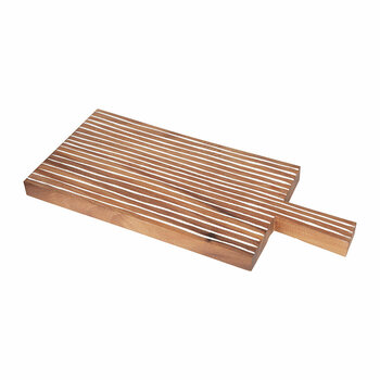 Striped Wood Chopping Board