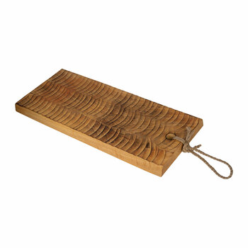 Textured Wood Chopping Board