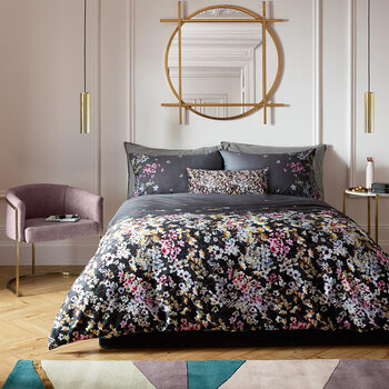 Spice Garden Duvet Cover - Licorice