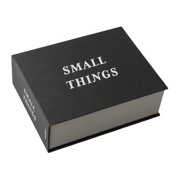 'Small Things' Storage Box - Black