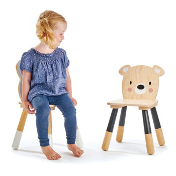 Kids Forest Bear Chair