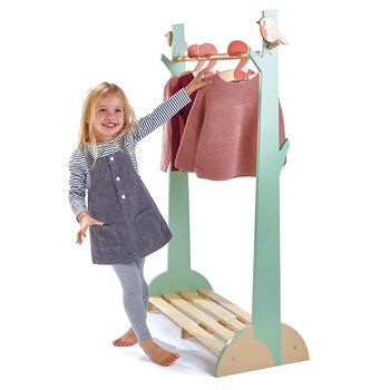 Kids Forest Clothes Rail