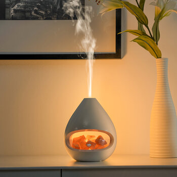 Glo Scent Diffuser with Pink Himalayan Salt