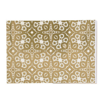 Gold Paseo A5 Notebook