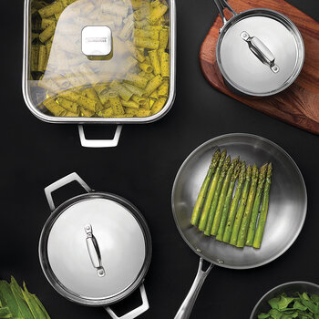 Stainless Steel Cookware Set - Set of 3