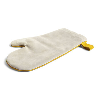 Suede Oven Glove - Yellow