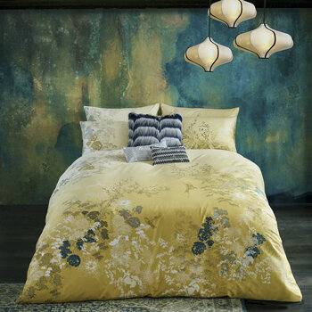 Rhoda Quilt Cover - Olive