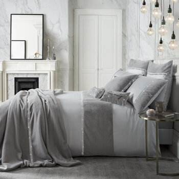Sylvie Quilt Cover - Mineral