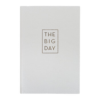 A5 Wedding Planner - 'The Big Day'