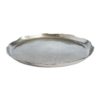 Cascade Round Tray - Frosted