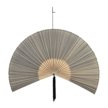 Bamboo Wall Decor - Black