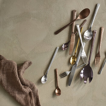 Hune Cutlery Set - 16 Piece - Copper