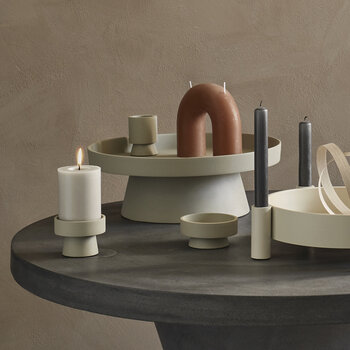 Holger Candle Plate - Sand